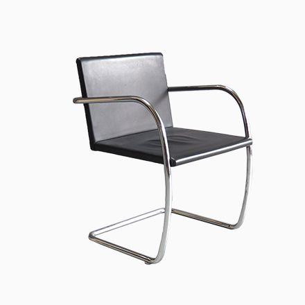 Chrom U0026 Leder Brno Stuhl Von Mies Van Der Rohe Für Knoll, 1930er Jetzt  Bestellen