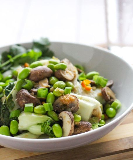 Sweet n Spicy Bok Choy Stir Fry - Eat Spin Run RepeatNeed to clean out the fridge
