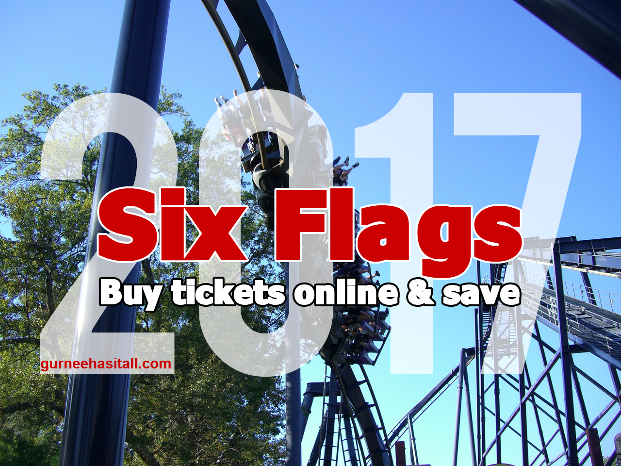 Looking For Cheaper Six Flags Tickets Buy Online Any Day Of The Season And Save Up To 20 Off A General Admission Ticke Online Tickets Six Flags Great America