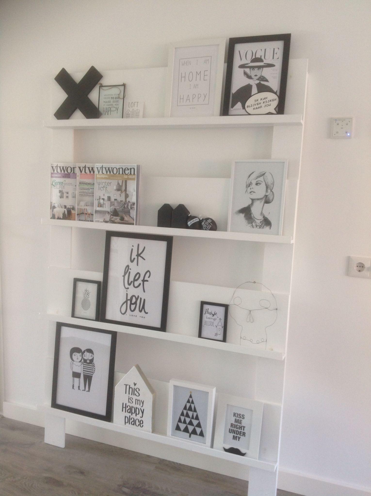tijdschriftenrek woon idee n pinterest fotowand ikea ideen und ikea. Black Bedroom Furniture Sets. Home Design Ideas