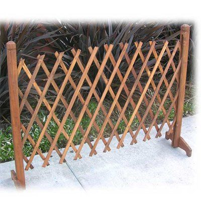 Trademark Home Collection 3 Ft H X 4 5 Ft W Instant Home Fence