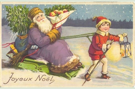 Etsy vintage team postcards from france ix french christmas cards shop vintage french christmas greeting card created by retromagicshop m4hsunfo Images