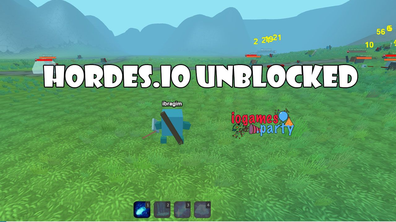 Unblocked Mobile Games >> Hordes Io Unblocked Iogames Horde Mobile Game Ve Play