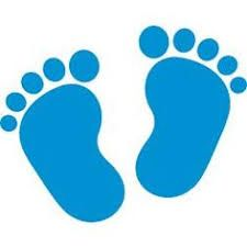 image result for baby feet template crafts pinterest baby feet