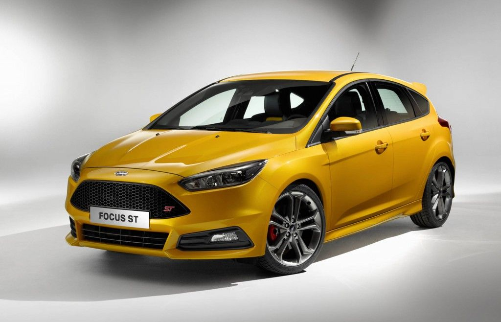 2015 Ford Focus St And Focus St Diesel Debut At 2014 Paris Auto