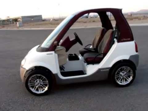 Innovation Motorsports Electric Smart Car Incredibly Rare