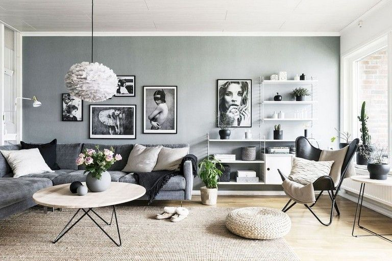 80 Awesome Scandinavian Style Living Room Decor Design Ideas Living Room Dining Room Combo Living Room Scandinavian Living Dining Room
