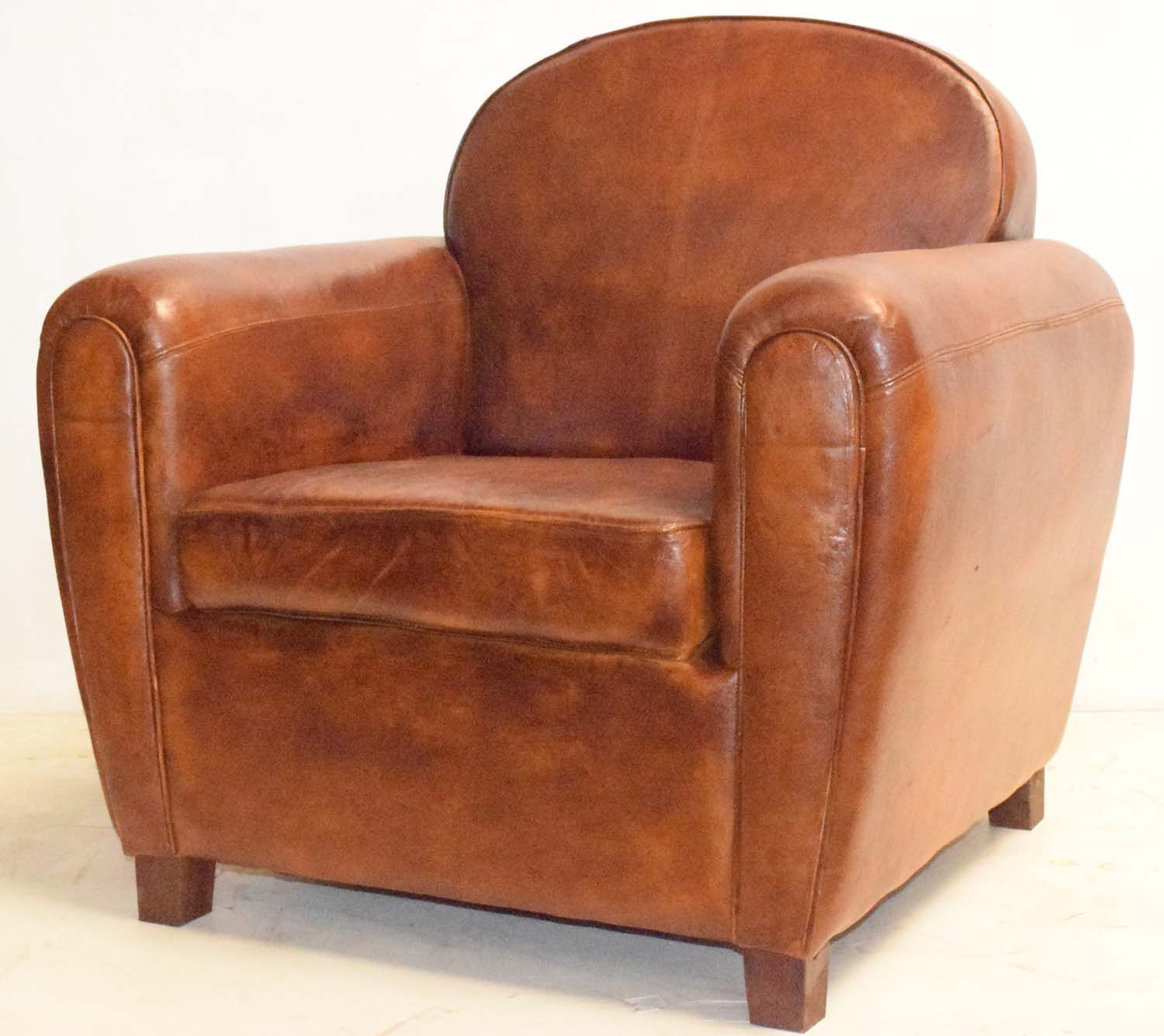 Genuine Leather Couch Vintage Industrial Furniture Pinterest