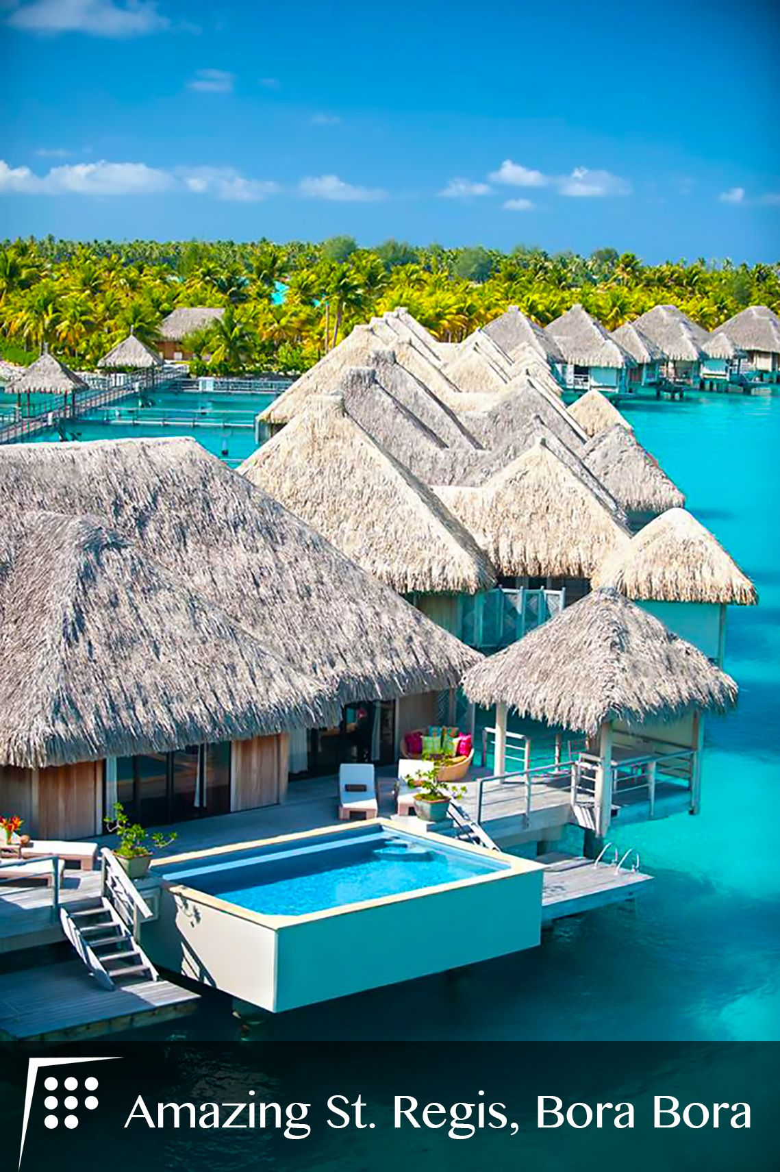 Did You Know That The Movie Couples Retreat Starring Vince Vaughn And Jon Favreau Was Shot At St Regis Resort Bora