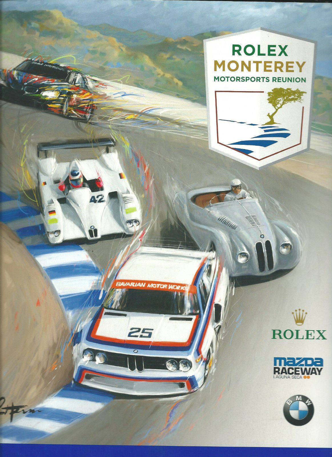 2015 Program Rolex Monterey Historic Laguna Seca - BMW https://t.co/C1BDpQTMIo https://t.co/z2KWQ66BSl