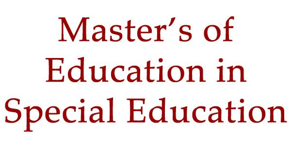 The Med In Special Education Degree Program At Unlv Is Designed To