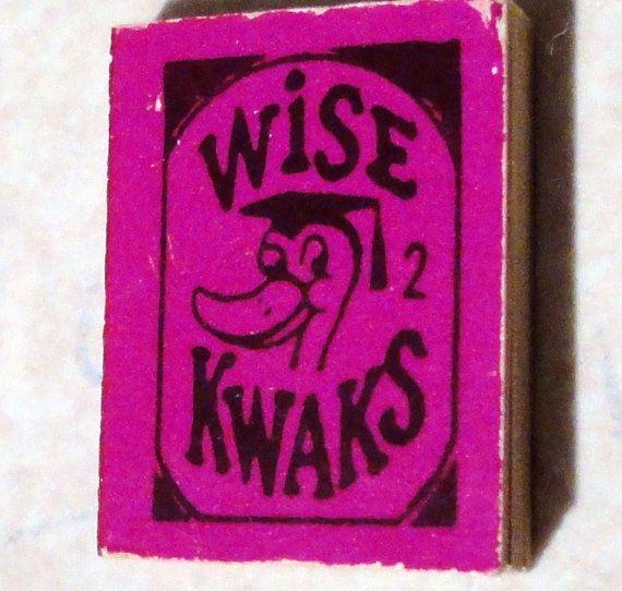 Vintage Wise Kwaks Mini Book 2 Gumball Vending by Treazurzs, $29.99