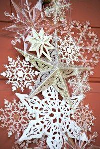 Snowflake Door Hanger - #decorativeornamenthangers #door #Hanger #Snowflake #hangersnowflake
