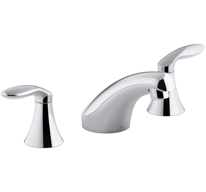 Kohler K 15265 4ndra Sink Faucets Widespread Bathroom Faucet