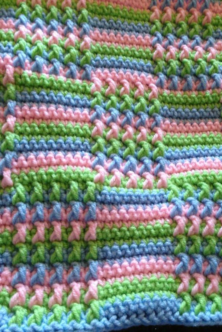 Free Pattern] This Blocks Crochet Afghan Is Absolutely Gorgeous ...