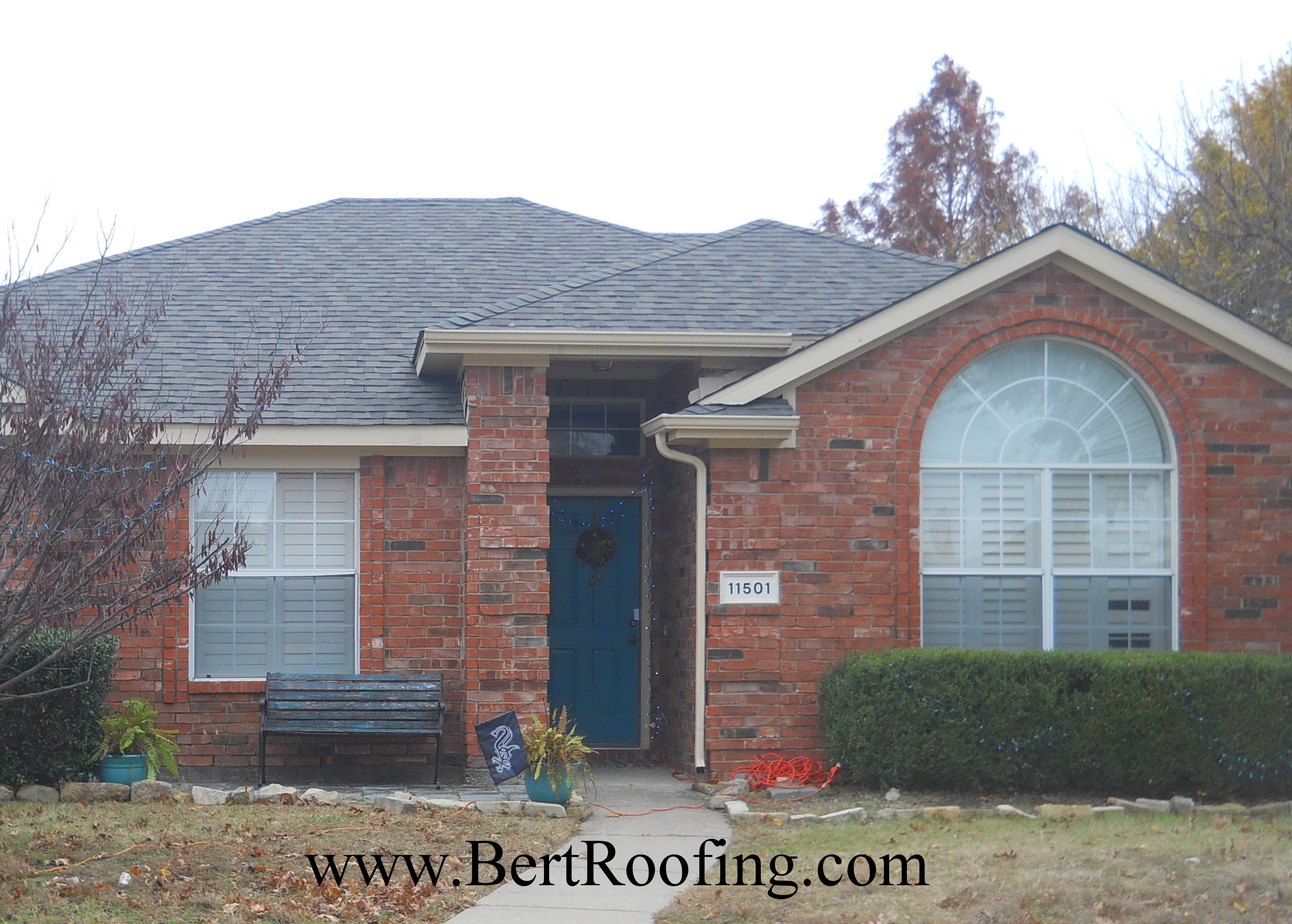 CertainTeed Landmark Composition Shingle, Color Weathered Wood. Installed  By Bert Roofing Inc Of Dallas