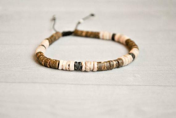 Native american tribal mens bracelet | ethnic jewelry | masaai bracelet | african jewelry | tribal wristband