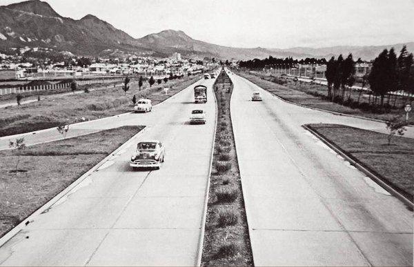 #AutopistaNorte en 1954