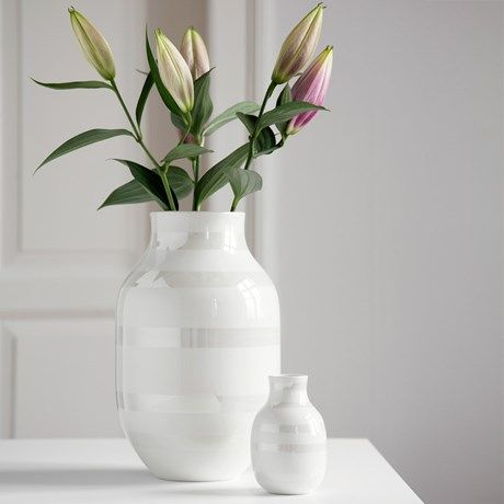Omaggio vas, stor pearl - Kähler | Home inspiration | Pinterest | Vase, Home och Home Decor