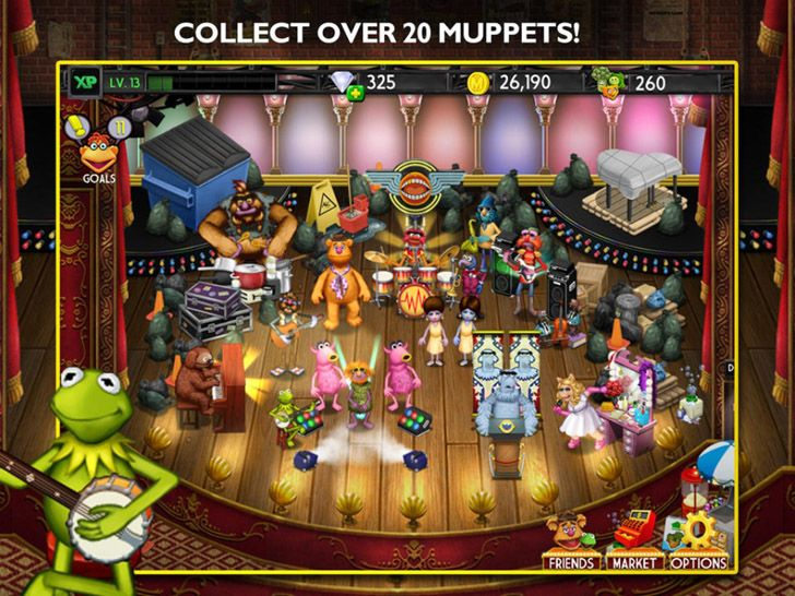 my muppets show app by disney kids games