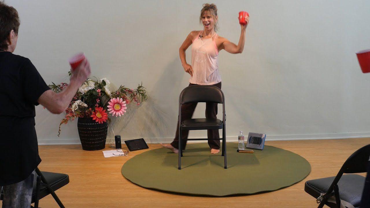 Gitupchallenge Chair Yoga Dance With Sherry Zak Morris C Iayt Youtube Chair Yoga Yoga Dance Yoga For Seniors