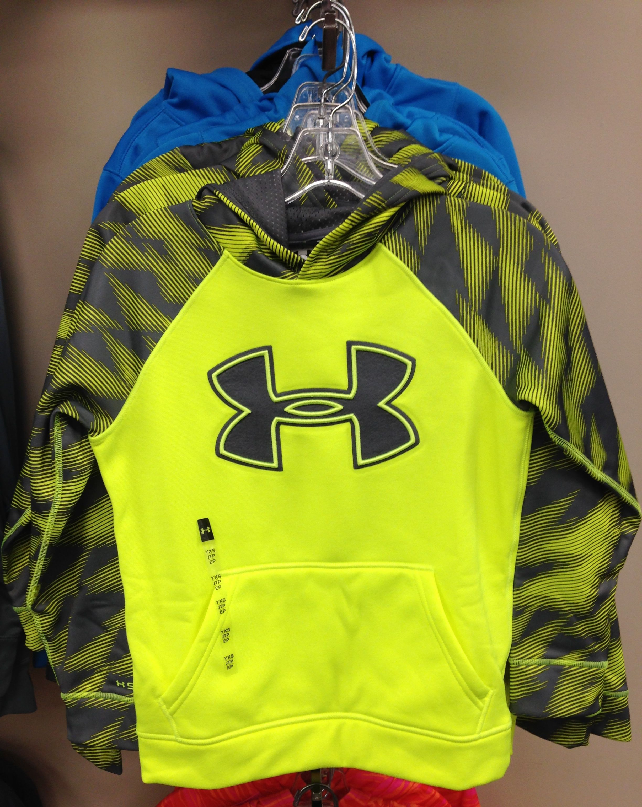Youth Under Armour Sweatshirt Neon Yellow And Gray Under Armour Sweatshirt Hoodies Clothes [ 3078 x 2448 Pixel ]