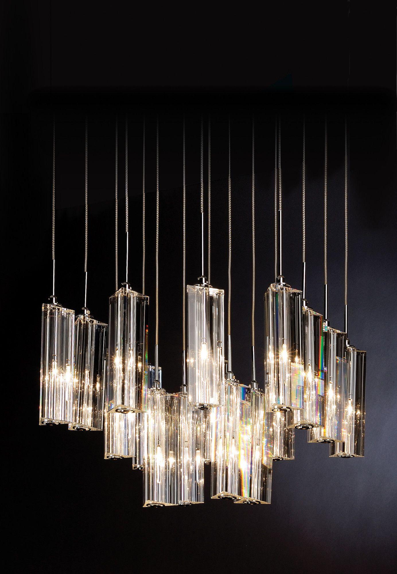 Trend Lighting Corp Diamante 16 Light Pendant Allmodern