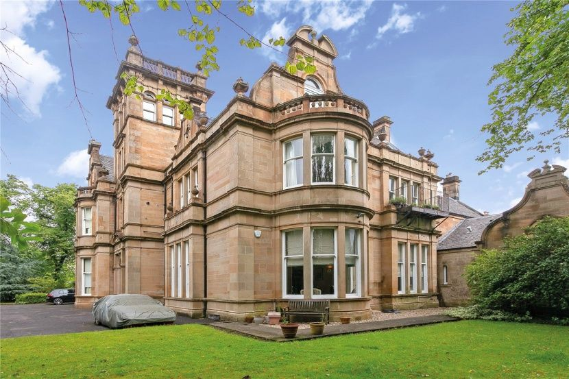 2 bedroom apartment for sale in Cleveden Road, Kelvinside ...