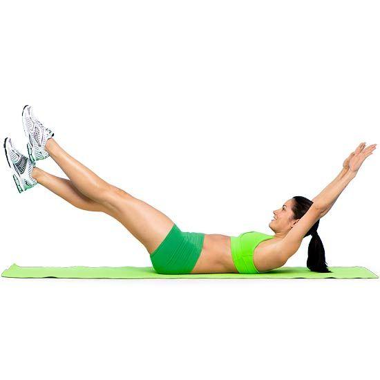 Abs! 5 quick exercises