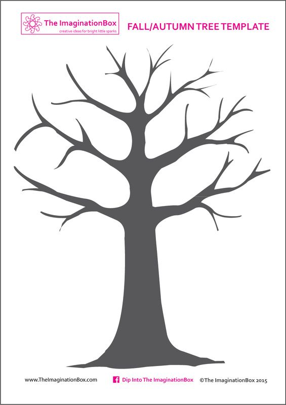 Print this free tree template from the imaginationbox to for Friendship tree template