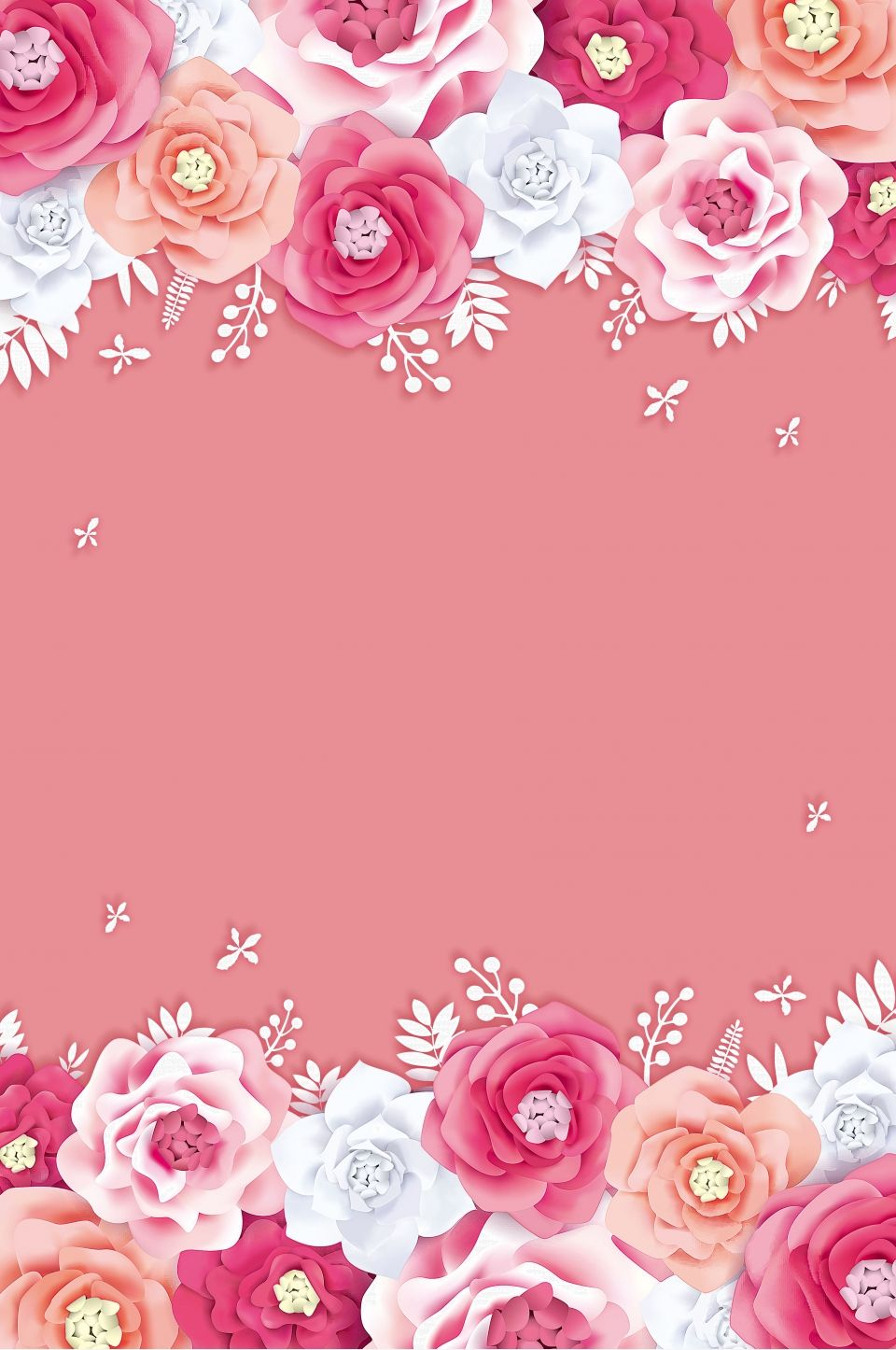 Creative Flower Tmall Wedding Expo Hd Background in 2020