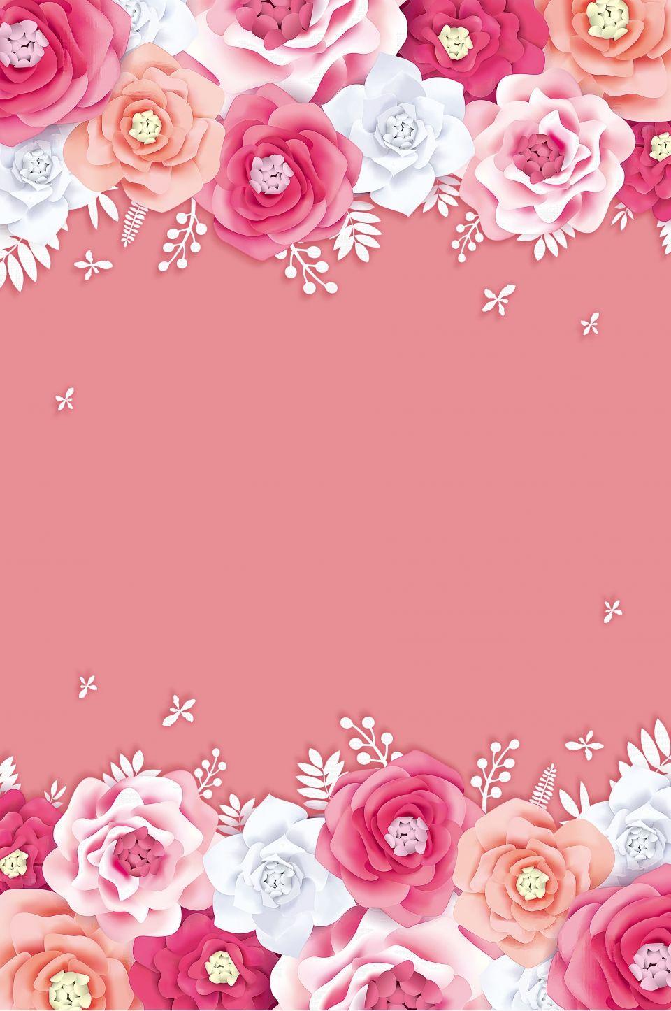 Bunga Kreatif Tmall Perkahwinan Ekspo Latar Belakang Hd Flower Background Wallpaper Wallpaper Nature Flowers Flower Backgrounds