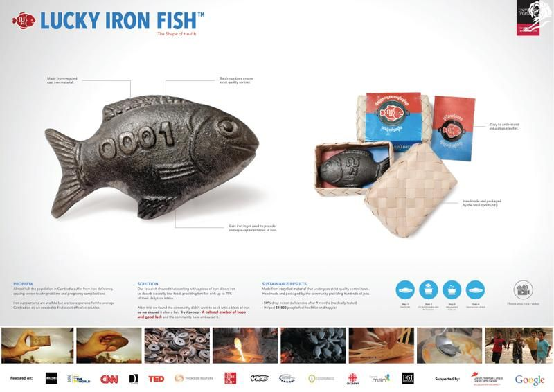 Design shortlist winners cannes lions archive for Lucky iron fish snopes