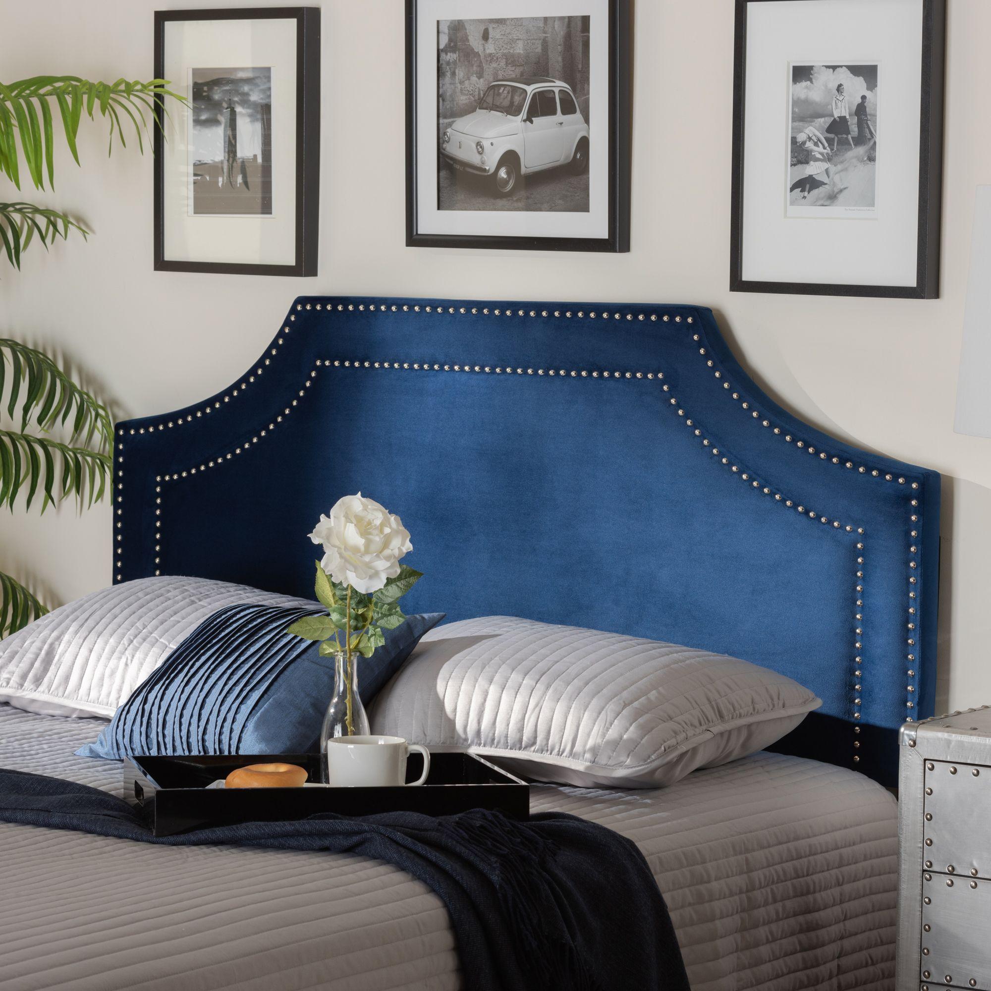 Baxton Studio Avignon Modern and Contemporary Navy Blue