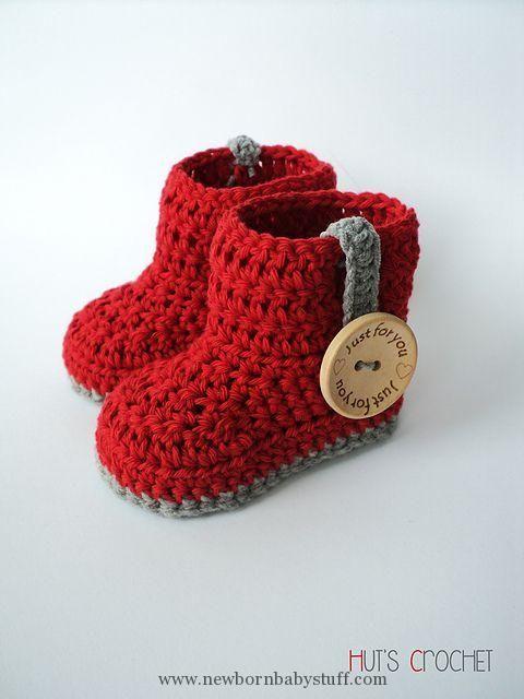 Crochet Baby Booties 10 Quick and Easy Crochet Baby Booties - Knit ...