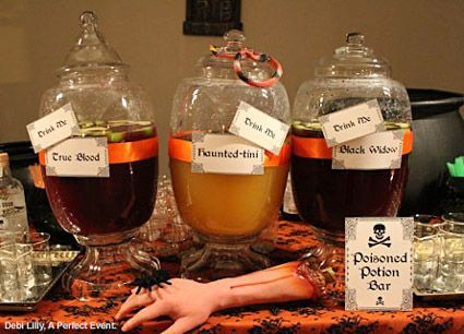 7 wickedly easy halloween party ideas - Ideas For Halloween Party