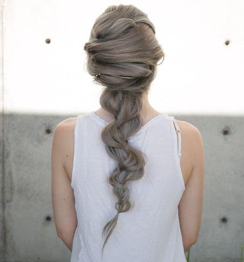 Mermaid Hairstyles Criss Cross Into Braid Mermaid Hairstyle  Mermaid Hairstyles