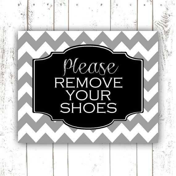 286713300ddf6 Please Remove Your Shoes Sign Printable by GotPaperDesigns | Got ...