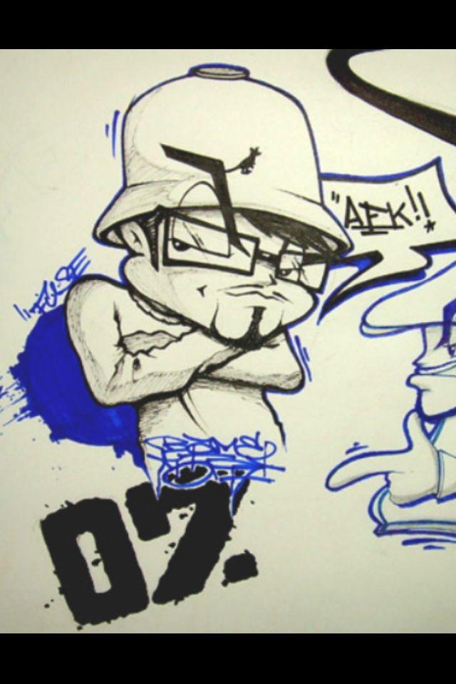 B Boy Character Graffiti B Boy Character Graffiti Art