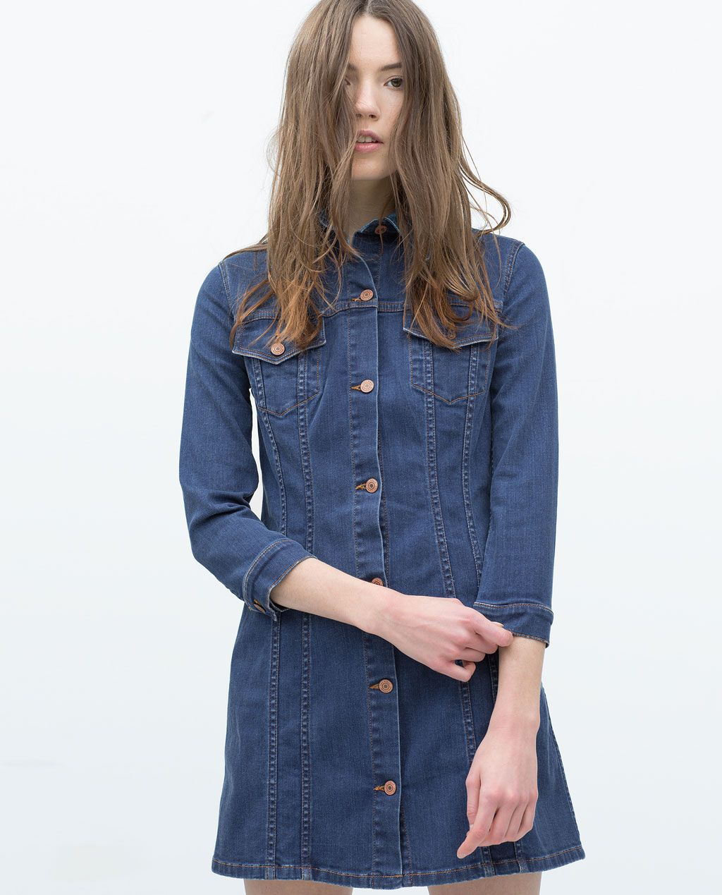 e3f6a6e486 Denim Dress-Woman-NEW THIS WEEK