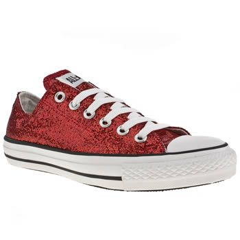 Red converse, Converse all star ox