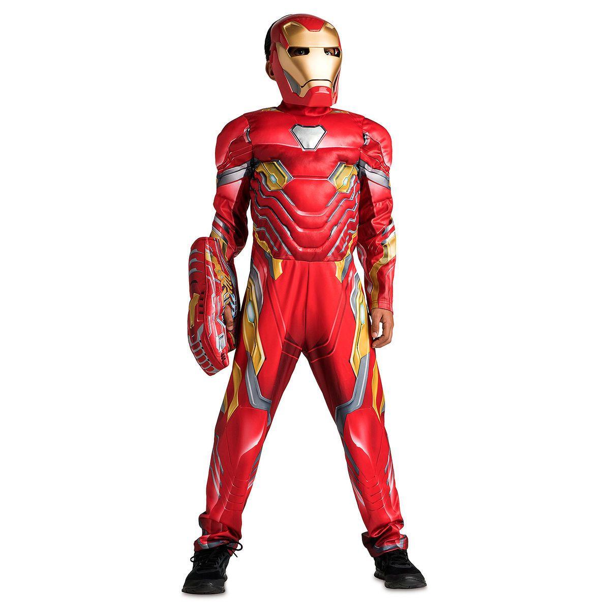 Ironman Costume Cape and Mask Set Kids Marvel Comics Superhero Dress Up