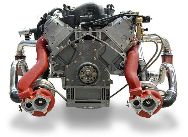 APS Intercooled Twin Turbo LS1 | Twin turbo, Car engine, Ls