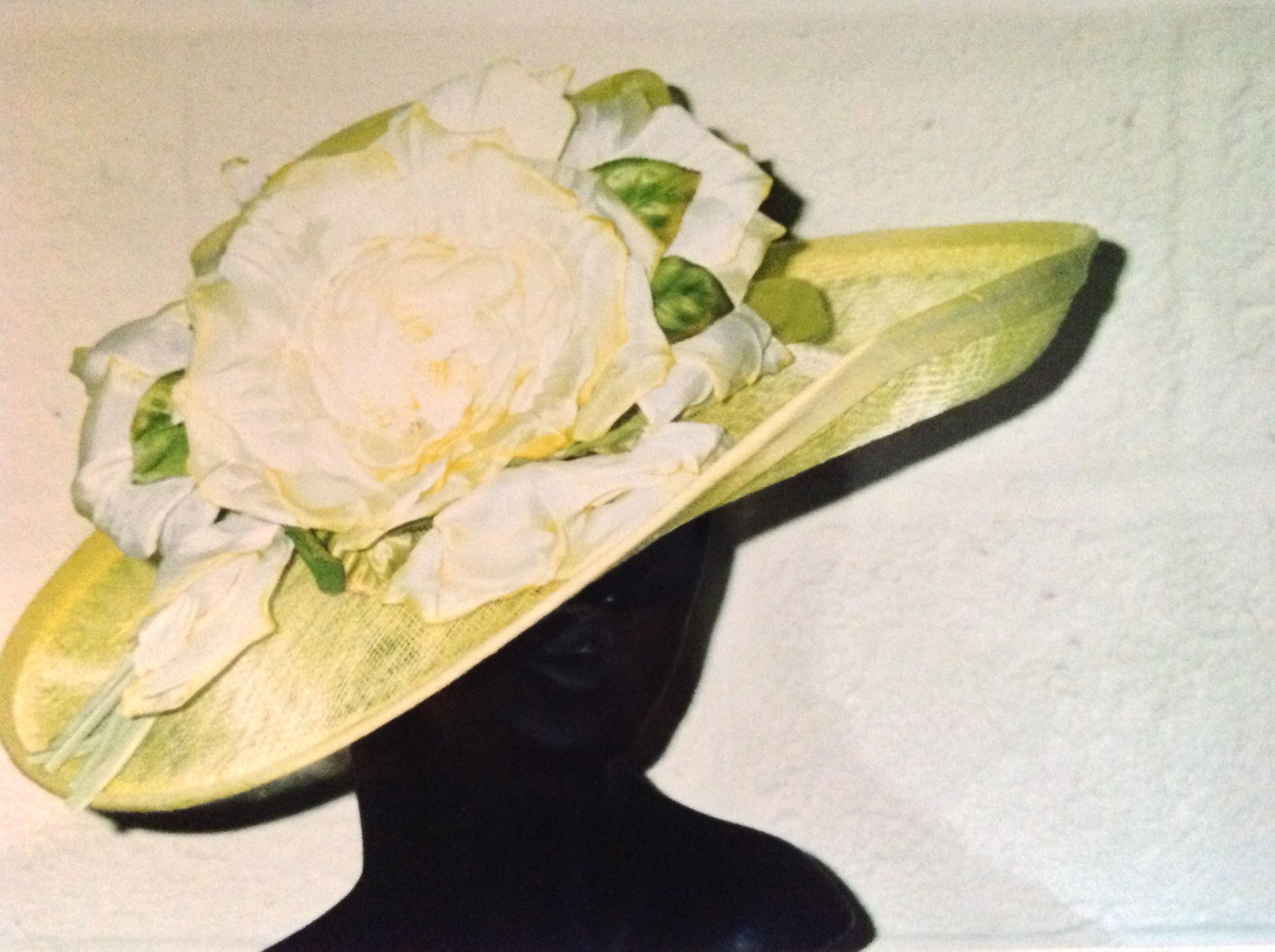 Citrus silk and sins may with huge handmade silk Rose