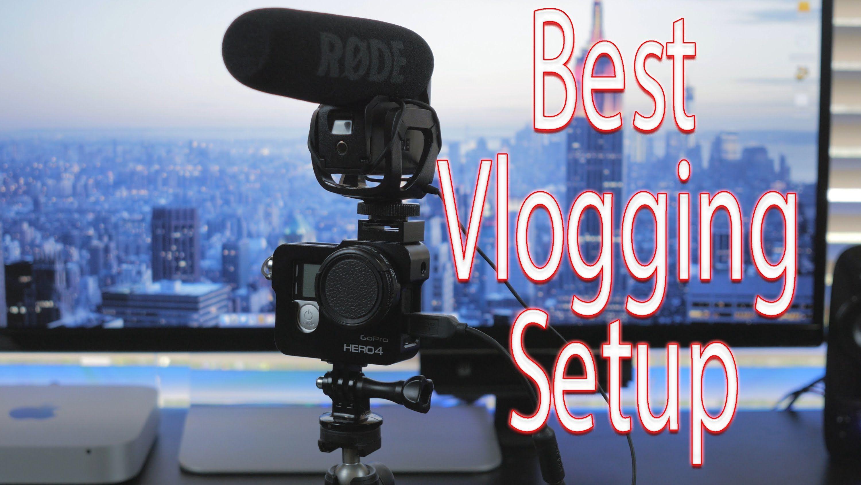 Great Vlogging Setup - GoPro hero 4 Black   Ideas for the House