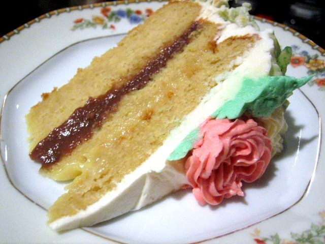 A slice of Italian Rum Cake | Recipes | Pinterest | Italian rum cake ...
