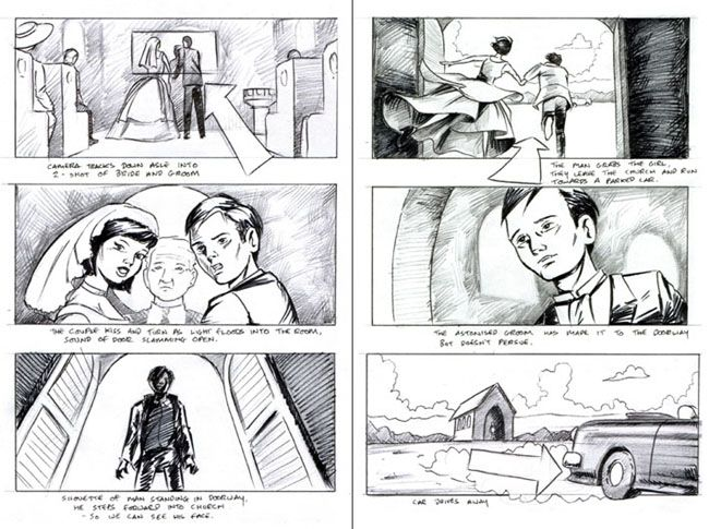 Storyboards-From-Famous-Movies | Film | Storyboards | Pinterest