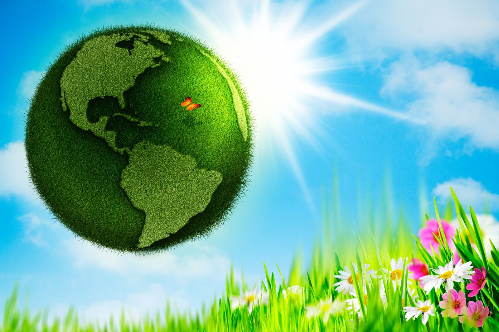 Happy Earth Day 3d Images Hd Wallpapers Happy Earth Earth Day