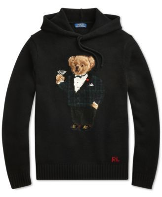 3dc30bfc Polo Ralph Lauren Men Polo Bear Hoodie in 2019 | Products | Bear ...