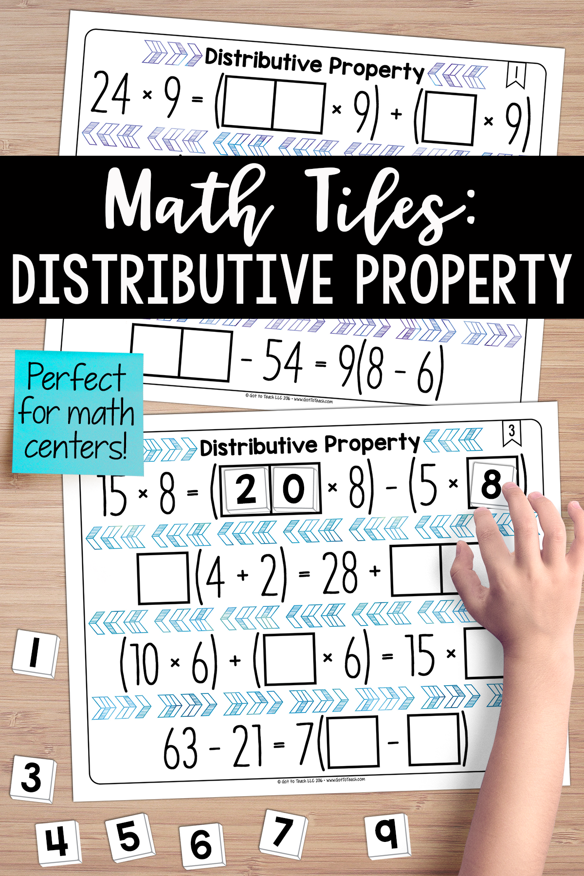 Math Tiles Distributive Property